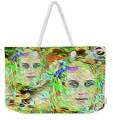 Mystical Eyes Weekender Tote Bag