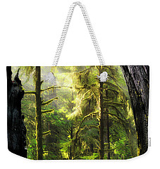 Mystical Forest Opening Weekender Tote Bag by Leland D Howard