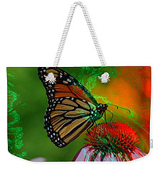 Mystical Monarch Weekender Tote Bag