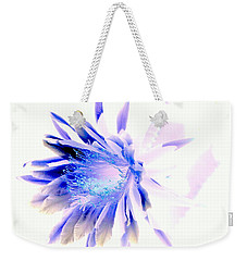Mystical Phenomenoms Of The Southwest Cactus Orchid Weekender Tote Bag by Antonia Citrino