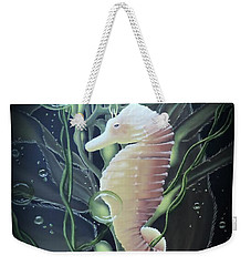 Mystical Sea Horse Weekender Tote Bag by Dianna Lewis