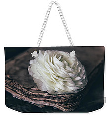 Weekender Tote Bag featuring the photograph Mystique by Kim Hojnacki