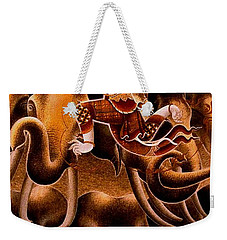 Mythical Warrior Of Siam Weekender Tote Bag