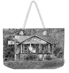 Weekender Tote Bag featuring the photograph N C Ruins 1 by Mike McGlothlen