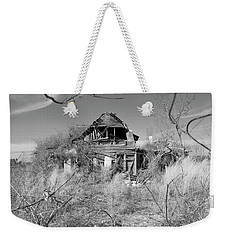 Weekender Tote Bag featuring the photograph N C Ruins 2 by Mike McGlothlen