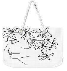 Nadine Weekender Tote Bag