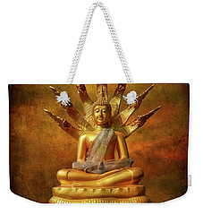 Weekender Tote Bag featuring the photograph Naga Buddha by Adrian Evans