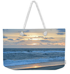 Weekender Tote Bag featuring the photograph Nags Head 11/23 by Barbara Ann Bell