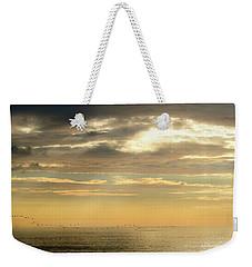 Nags Head, Nc Sunrise Weekender Tote Bag