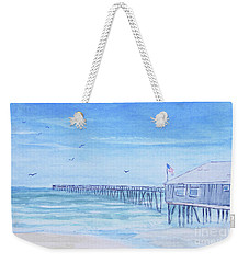 Nags Head Pier Weekender Tote Bag