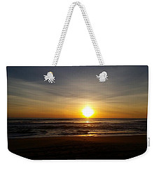 Nags Head Sunrise Weekender Tote Bag by Mark Minier