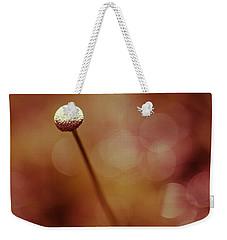 Naked Dandelion Weekender Tote Bag by Stefanie Silva