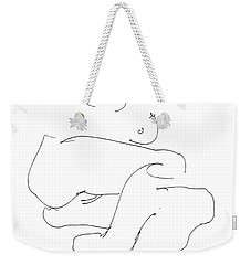 Naked-female-art-21 Weekender Tote Bag
