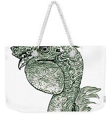 Naked Neck Rooster Weekender Tote Bag