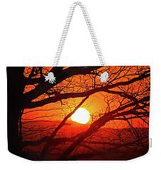Naked Tree At Sunset, Smith Mountain Lake, Va. Weekender Tote Bag