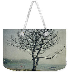Weekender Tote Bag featuring the photograph Naked Tree by Marco Oliveira