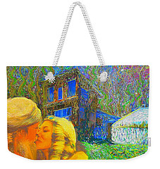 Nalnee And James Weekender Tote Bag by Hidden Mountain
