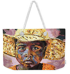 Madagascar Farm Girl Weekender Tote Bag
