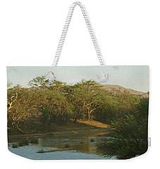 Namibian Waterway Weekender Tote Bag by Ernie Echols