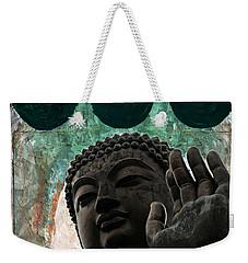 Namo Buddhaya Weekender Tote Bag