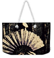 Weekender Tote Bag featuring the digital art Nancy 2 by Mark Baranowski