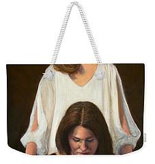 Nancy And Abby Weekender Tote Bag