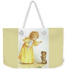 Nancy And Spot Weekender Tote Bag