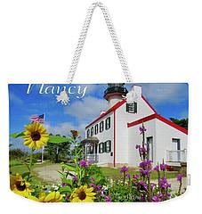 Nancy Weekender Tote Bag