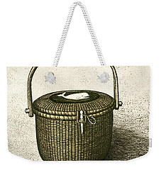 Nantucket Basket Weekender Tote Bag