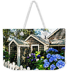 Nantucket Cottage No.1 Weekender Tote Bag by Tammy Wetzel