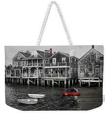 Nantucket In Bw Series 6139 Weekender Tote Bag