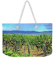 Weekender Tote Bag featuring the photograph Napa by Corinne Rhode