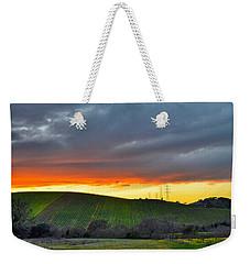 Napa Sunrise Weekender Tote Bag