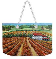 Napa Valley Autumn Weekender Tote Bag
