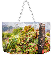 Napa Vineyard Weekender Tote Bag