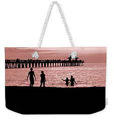Naples Florida Sunset Weekender Tote Bag
