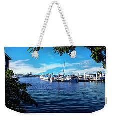 Naples Harbor Series 4054 Weekender Tote Bag