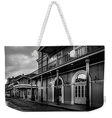 Napoleon's Itch In Black And White Weekender Tote Bag
