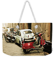 Napoli Parking Weekender Tote Bag