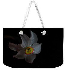 Weekender Tote Bag featuring the photograph Narcissus by Susan Capuano