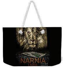 Weekender Tote Bag featuring the photograph Narnia Lives by Michael Arend