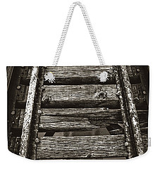 Narrow Gauge Tracks #photography #art #trains Weekender Tote Bag