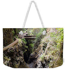 Narrow Path Weekender Tote Bag