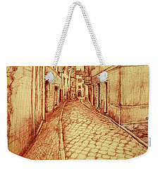 Narrow Street Of Lovere Italy Weekender Tote Bag