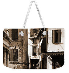 Narrow Streets Of Asolo Weekender Tote Bag