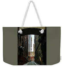 Narrow Streets Of Cobble Stone Weekender Tote Bag