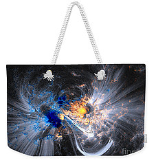 Nasa Coronal Loops Over A Sunspot Group Weekender Tote Bag