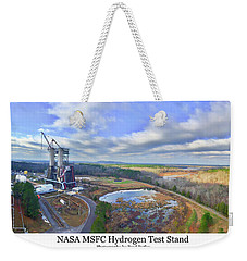 Nasa Msfc Hydrogen Test Stand - Original Weekender Tote Bag