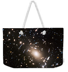 Weekender Tote Bag featuring the photograph Nasa's Hubble Looks To The Final Frontier by Nasa