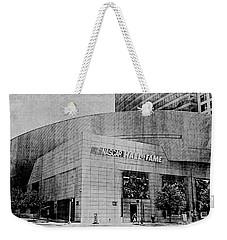 Nascar Hall Of Fame 2 Weekender Tote Bag